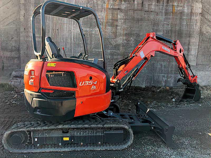 Rental: Kubota Excavator